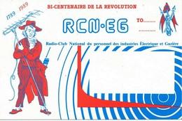 Carte Radio QSL Bi Centenaire De La Révolution - Radio