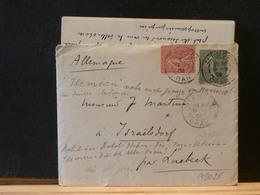A9024  LETTRE DE ORAN POUR ALLEMAGNE  1908 - 1877-1920: Semi Modern Period