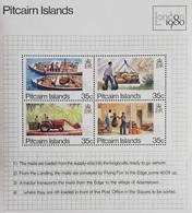 Pitcairn Islands  1980 London 80 Intl.Phil. Exhibition S/S - Pitcairn Islands