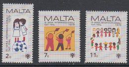 Malta 1979 International Year Of The Child 3v ** Mnh (42804B) - Malta