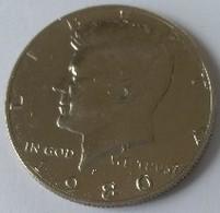 Half  Dollar 1980 - Kennedy - - Émissions Fédérales