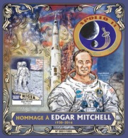 Niger 2016  Edgar Mitchell, Moon Landing ,space - Niger (1960-...)