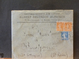 A9028 LETTRE FRANCE 1926 OBL. DAGUIN - Beers