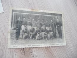 CPA 07 Ardèche Lamastre Union Sportive Football Champion Drôme Ardèche 1934/35 En L'état - Lamastre