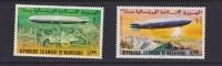MAURITANIE N° PA 170/171 **- ZEPPELINS  Cote 7.75 € - Zeppelins