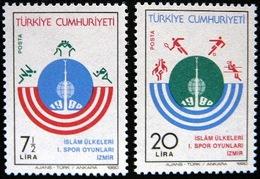 (dcos-432)    Turkey  -  Turquie   -  Turkije      Mi 2522-23    Yv. 2291-92    MNH   1980 - 1921-... Republic
