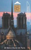 Rare Carte Téléphonique Petit Tirage Notre Dame De Paris 100 000 Ex - France