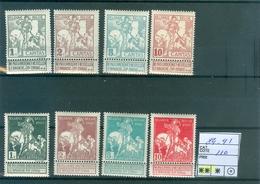 84-91 Xx  Côte 110.00€ - 1910-1911 Caritas