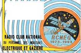 Carte Radio QSL  RCNEG 1973 1993 - Radio