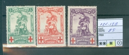 126-128 X  Côte 85.00€ - 1914-1915 Red Cross