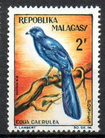 MADAGASCAR. N°381 De 1963. Coua. - Cuckoos & Turacos