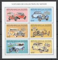 O289 DE GUINEE TRANSPORTATION AUTOMOBILES CARS COLLECTION DU MONDE 1KB MNH - Cars