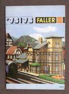 Catalogo Modellismo Ferroviario - Faller '75 / '76 - 1975 / 1976 - Libri, Riviste, Fumetti