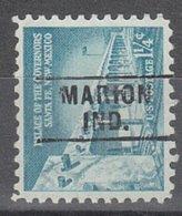 USA Precancel Vorausentwertung Preo, Locals Indiana, Marion 261 - Vorausentwertungen