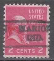 USA Precancel Vorausentwertung Preo, Locals Indiana, Marion L-1 HS - Vorausentwertungen