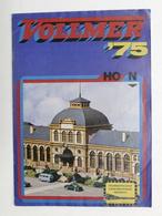 Catalogo Modellismo Ferroviario Accessori - Vollmer HO N '75 - 1975 F - Libri, Riviste, Fumetti