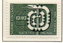 PIA - FINLANDIA - 1964 : 18° Assemblea Generale Dell' Associazione Medica Internazionale A Helsinki - (Yv 565) - Medicina