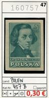 Polen - Poland - Pologne - Michel 457 B - ** Mnh Neuf Postfris - Chopin - 1944-.... Republic