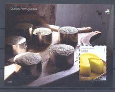 Año 2011 Hoja Nº 315  Gastronomia Quesos Portugueses - Hojas Bloque