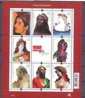 Año 2010 Nº 3516/3 Bustos De La Republica - Hojas Bloque