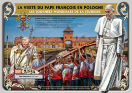 Niger 2016  Pope Francis In Poland,  Pope JohnPaul II - Niger (1960-...)