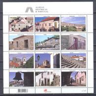 Año 2005 Nº 2875/86 Casas De Ciudades Historicas De Portugal - Hojas Bloque