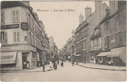 (pdd) ALLIER  , MOULINS ,lrue D'Allier - Moulins