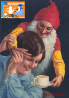 D37365 CARTE MAXIMUM CARD FD 2008 NETHERLANDS - VAN NELLE COFFEE GNOME KABOUTER RECLAME CP ORIGINAL - Other