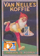 D37366 CARTE MAXIMUM CARD FD 2008 NETHERLANDS - VAN NELLE COFFEE GNOME KABOUTER RECLAME CP ORIGINAL - Other