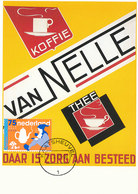 D37367 CARTE MAXIMUM CARD FD 2008 NETHERLANDS - VAN NELLE COFFEE GNOME KABOUTER RECLAME CP ORIGINAL - Other