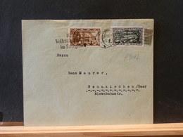A9042 LETTRE INTERIEUR  1935 - 1920-35 League Of Nations