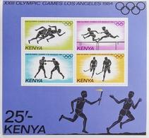 Kenya 1984 Summer Olympics  S/S - Kenya (1963-...)