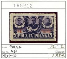 Polen - Poland - Pologne - Michel 451 - * Mh Charn. - 1944-.... Republic