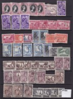 Malay States. Small Accumulation Of 50 Stamps - Grande-Bretagne (ex-colonies & Protectorats)