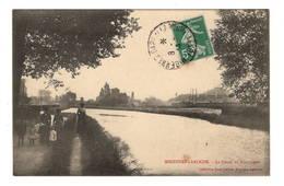 89 YONNE - MIGENNES LAROCHE Le Canal De Bourgogne - Migennes
