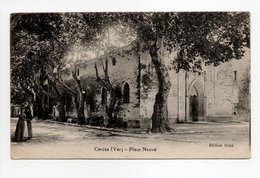- CPA CARCÈS (83) - Place Neuve 1916 - Edition Brun - - Carces