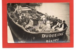 Cpsm 76 DIEPPE - Le Duquesne Partant En Promenade - Dieppe