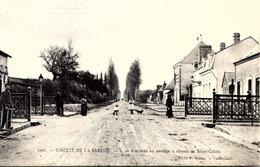 """72 - Circuit De La Sarthe 1906 (Le Mans) - L""""arrivée Au Passage à Niveau De Saint-Calais  TBE - Le Mans"""