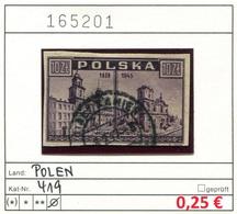 Polen - Poland - Pologne - Michel 419 - Oo Oblit. Used Gebruikt - 1944-.... Republic