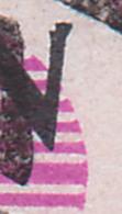 "JENA ZKD B11(1103) Kreisaufdruck Marke Mit Plattenfehler ""N"" Defekt Feld 43, Energieversorgung Gera Sitz Jena 8.8.57 - DDR"