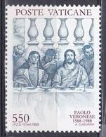 Vatikan Vatican 1988 Kunst Arts Kultur Culture Gemälde Paintings Veronese Künstler Maler Hochzeit Von Kana, Mi. 949 ** - Vatikan