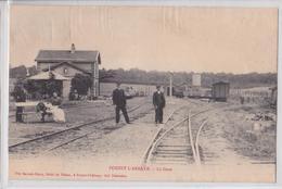 FOREST-L'ABBAYE (Somme) - La Gare - Voie Ferrée - Autres Communes