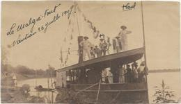 LAOS. ATTENTION PHOTO  VIENTIAN 1907.  DIM  140 X 80 - Laos