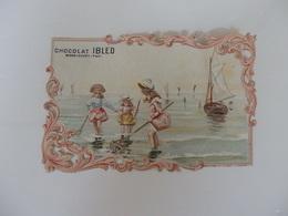 Chromo Dentelée Du Chocolat Ibled à Mondicourt (62). - Ibled