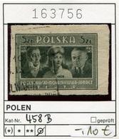 Polen - Poland - Pologne - Michel 458 B - Oo Oblit. Used Gebruikt - 1944-.... Republic