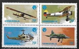 VENEZUELA 1979 EXFILVE VENEZUELAN AIR FORCE MNH - Venezuela