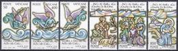 Vatikan Vatican 1988 Religion Christentum Weihnachten Christmas Engel Angels Ölzweig Olive Branch Hirten, Mi. 957-2 ** - Vatikan