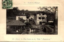 [64] Pyrénées-Atlantiques Le Lavoir Du Bas Cambo Et La Villa Landachcoa  TBE - Cambo-les-Bains