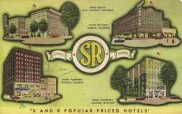 Friendly SR  Hotels Hotel Acacia Colo Springs Colorado Hotel Whitman Pueblo Clorado Hotel Planters Chicago Illinois Hote - Hotels & Restaurants