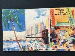 Dépliant Engagez Vous Dans La Marine Editions Devambez Années 1920 1930 - Livres, Revues & Catalogues